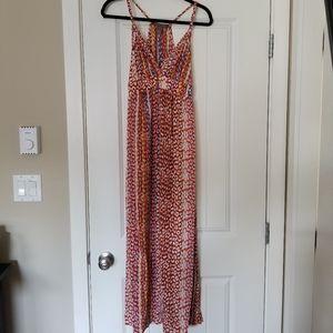 Charlie Jade Silk Maxi Dress
